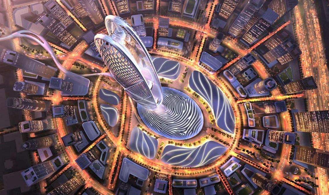 Небоскреб на отпечатке пальца: в Дубае построят необычное здание