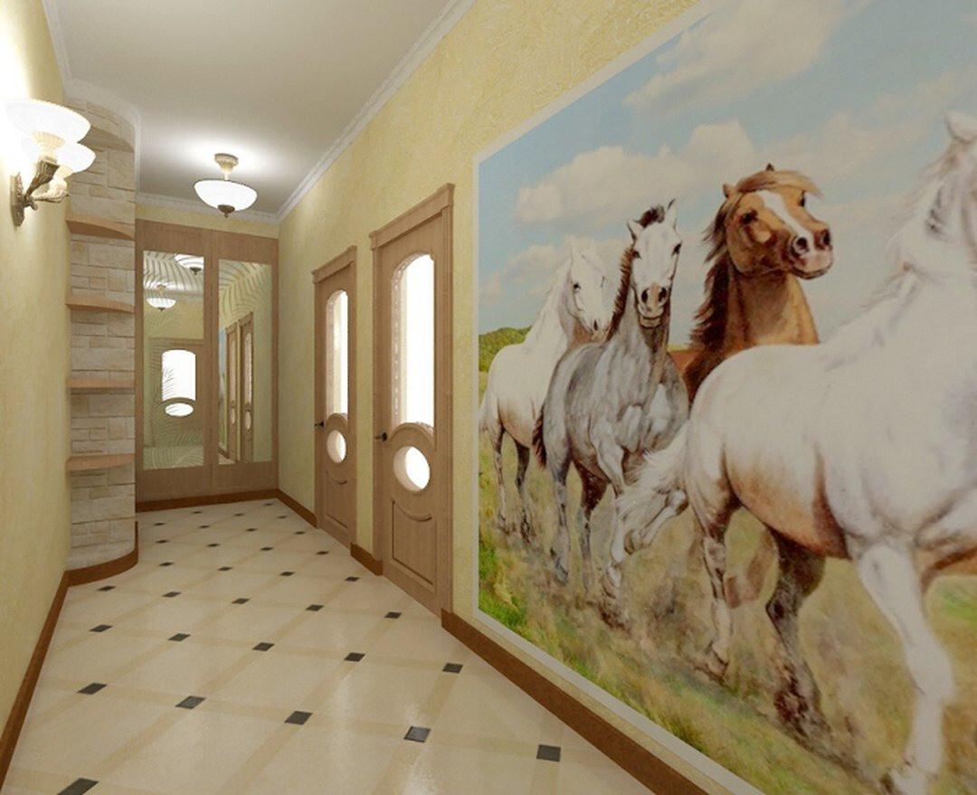 Фотообои для прихожей и коридора: 45 современных дизайнерских идей