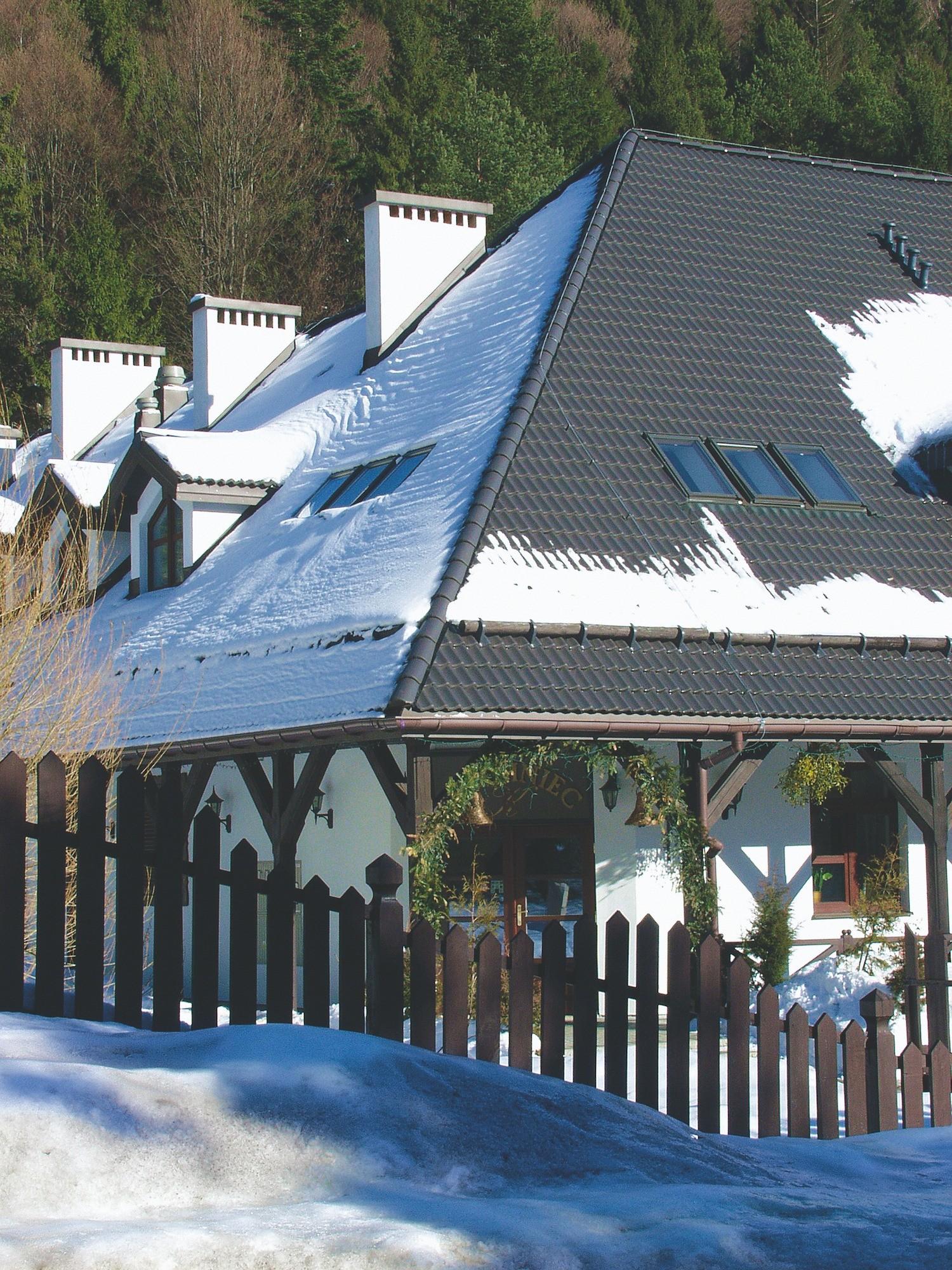 Установка снегозадержателей &#1...