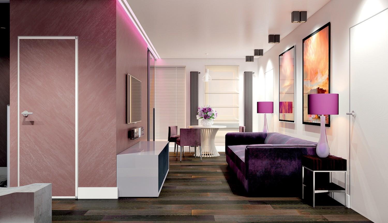 Квартира для семьи: двушка с двумя спальнями и отдельной гостиной