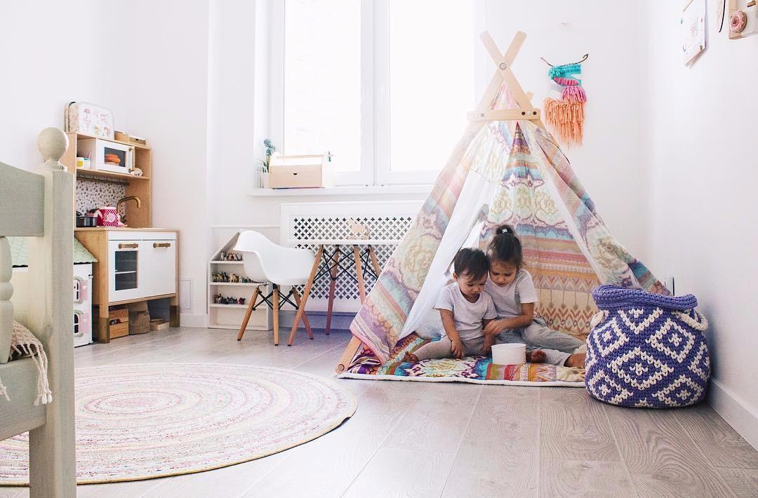 7 лучших идей для организации детской игровой в комнате любой площади
