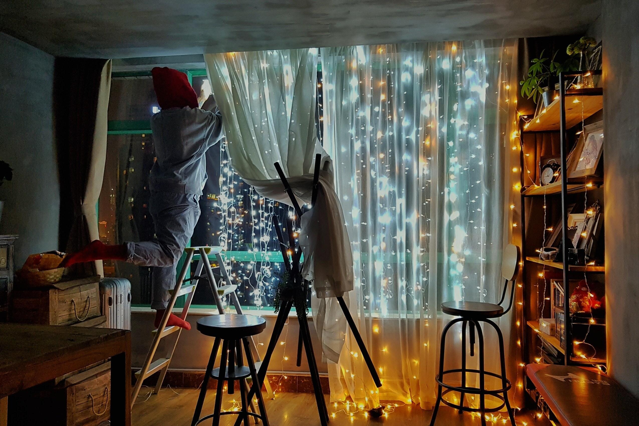 Как сделать в натяжном потолке скрытый карниз для штор