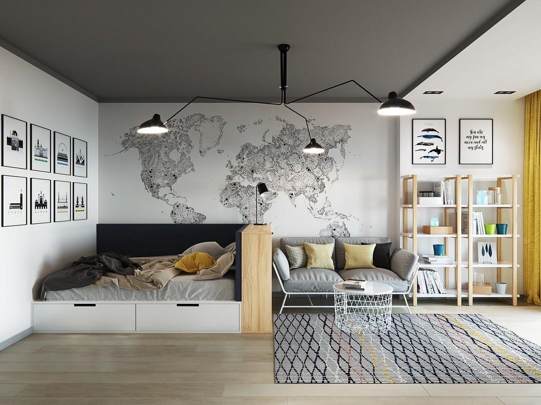 Квартира в скандинавском стиле: 70 вдохновляющих примеров дизайна