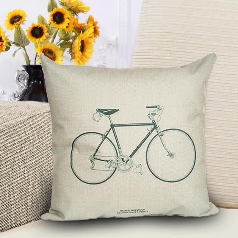Чехол с велосипедом