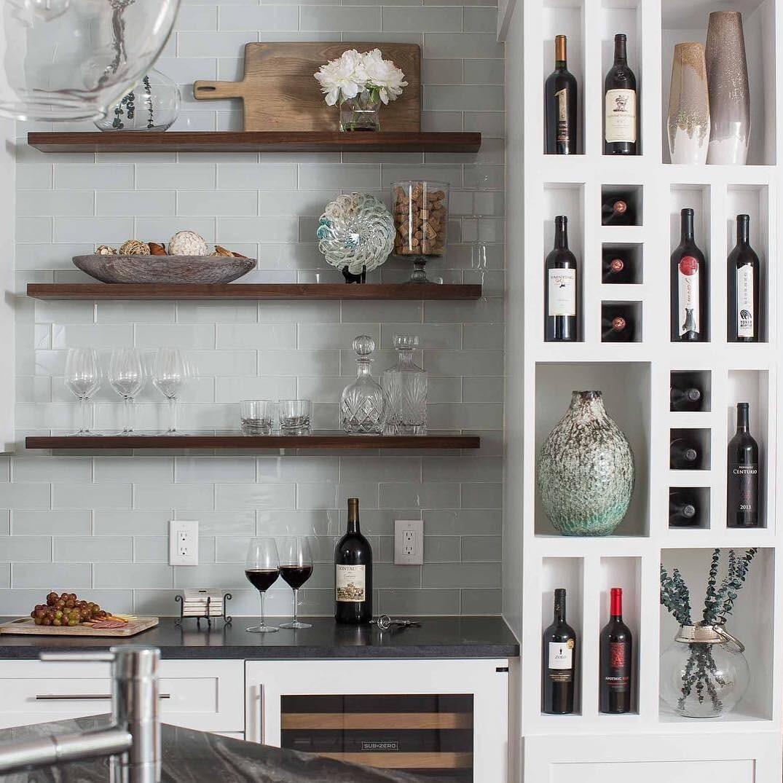 Где в квартире разместить винный бар: 6 лучших идей и 32 примера