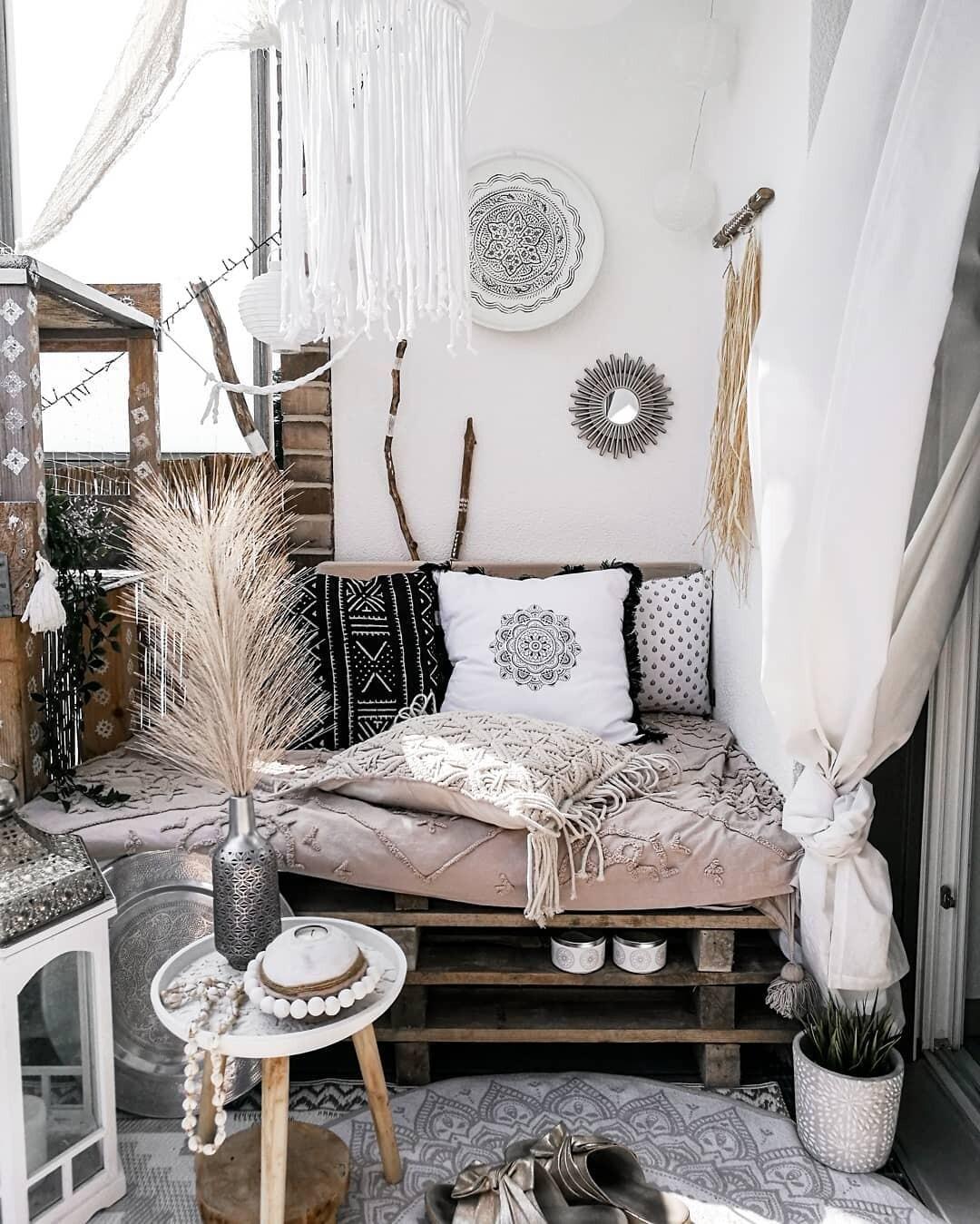 Черно-белый бохо: уютный стиль для любителей монохрома