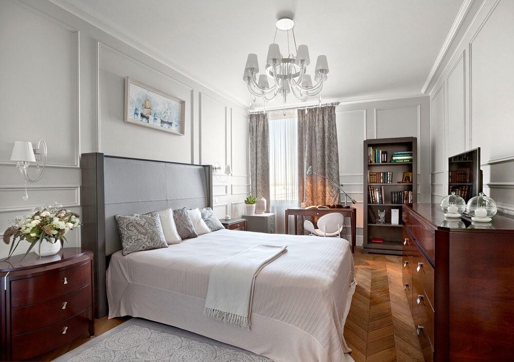 Дизайн спальни в классическом стиле: советы по оформлению и 60+  фото красивых решений