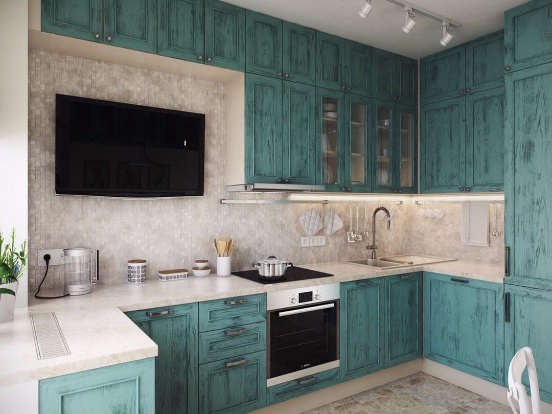 Где разместить телевизор на кухне: 5 мест и полезные советы