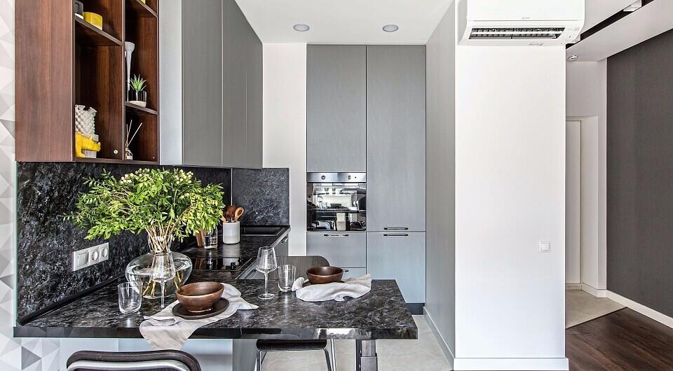 Выбираем гарнитур для маленькой кухни: советы и 40+ стильных примеров