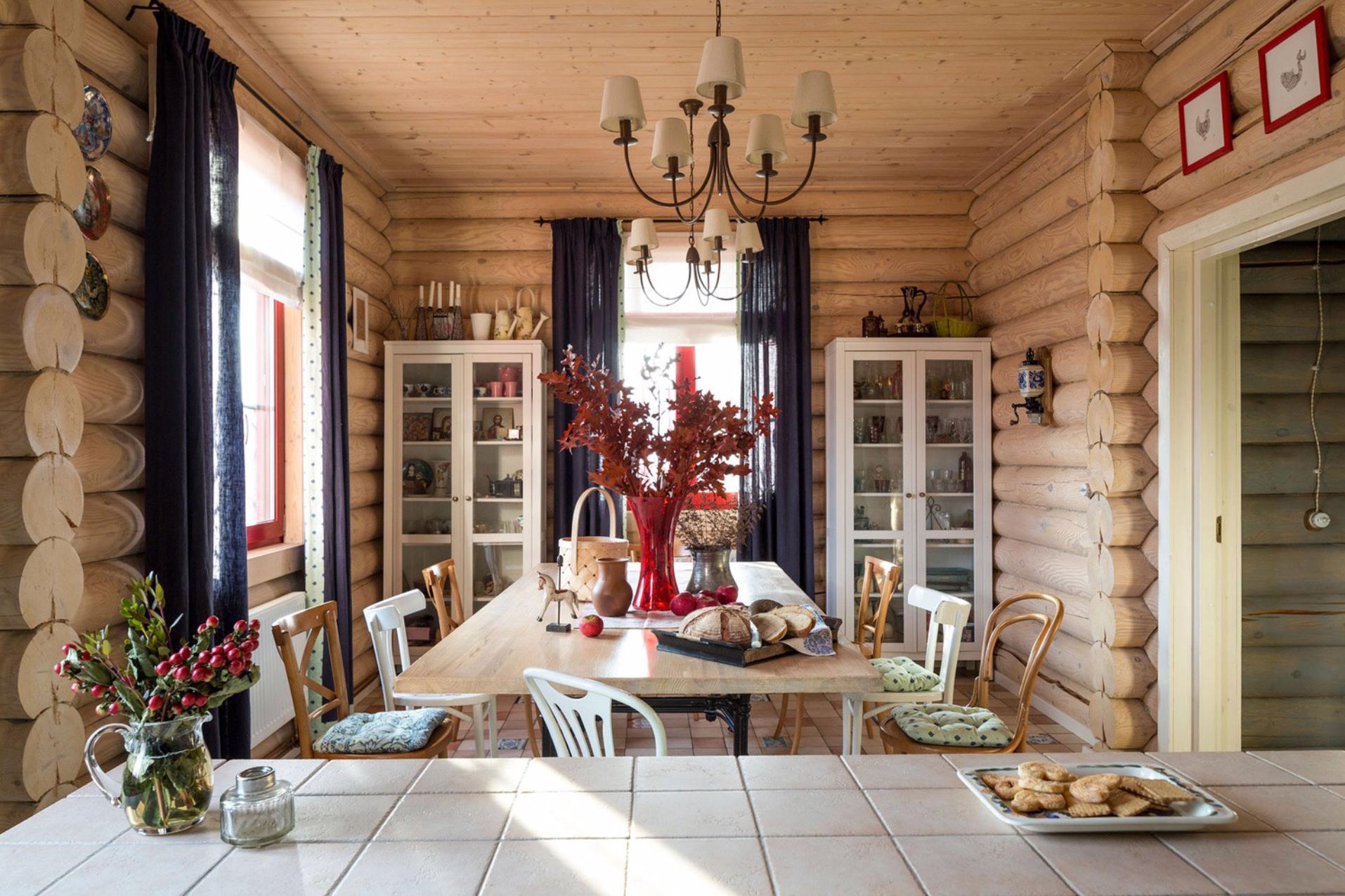 Как оформить интерьер кухни на даче: стилистические решения и 45+ фотоидей