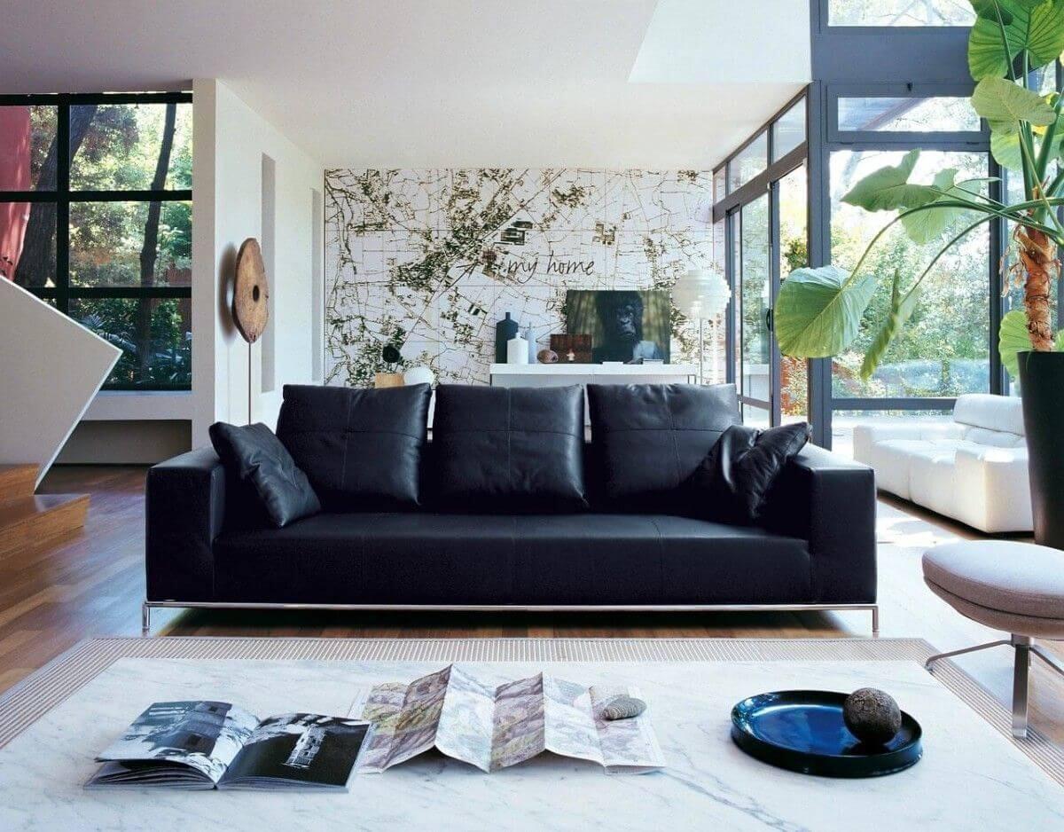 6 простых способов обыграть темную мебель в интерьере