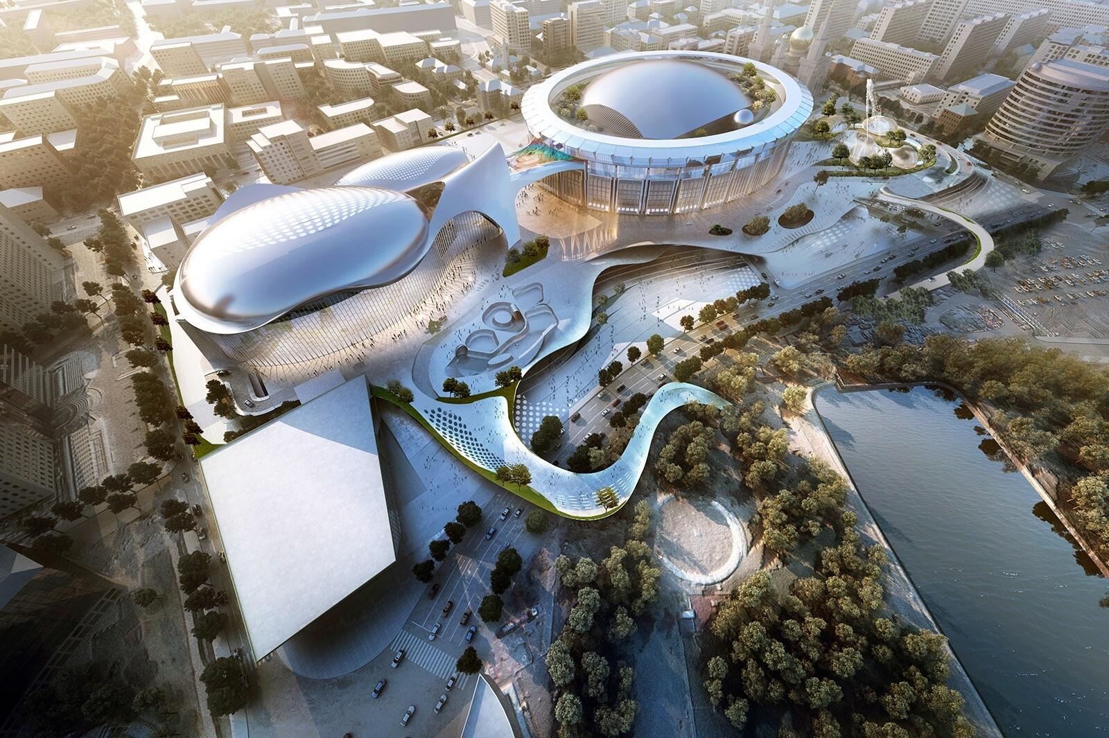 Новый купол, планетарий и дайвинг-центр: как будет выглядеть «Олимпийский» после реконструкции