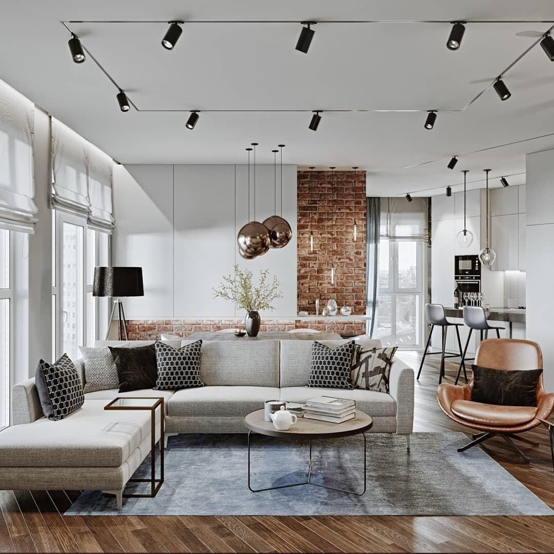 Дизайн квартиры в современном стиле: советы по созданию и 60 фото для вдохновения