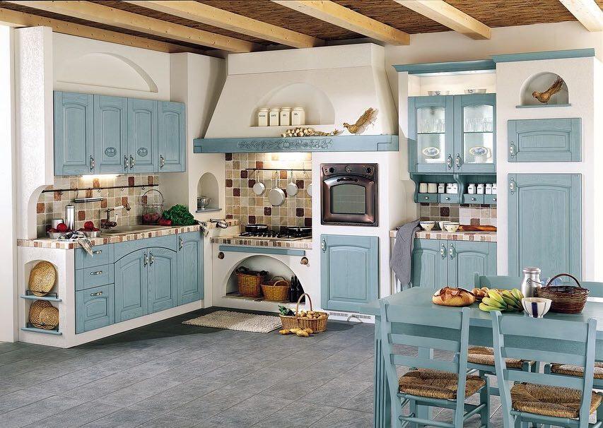 Дизайн кухни в стиле прованс: 50 уютных фото, которые вам понравятся