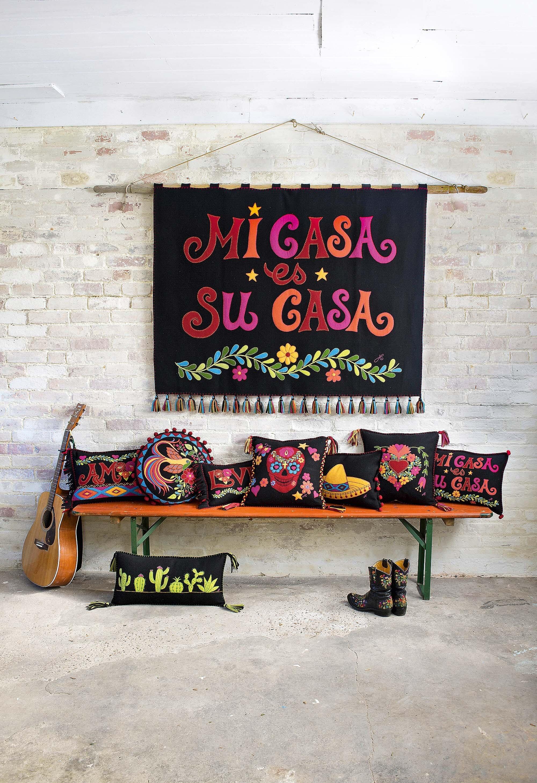 11 предметов интерьера в жгучем мексиканском стиле