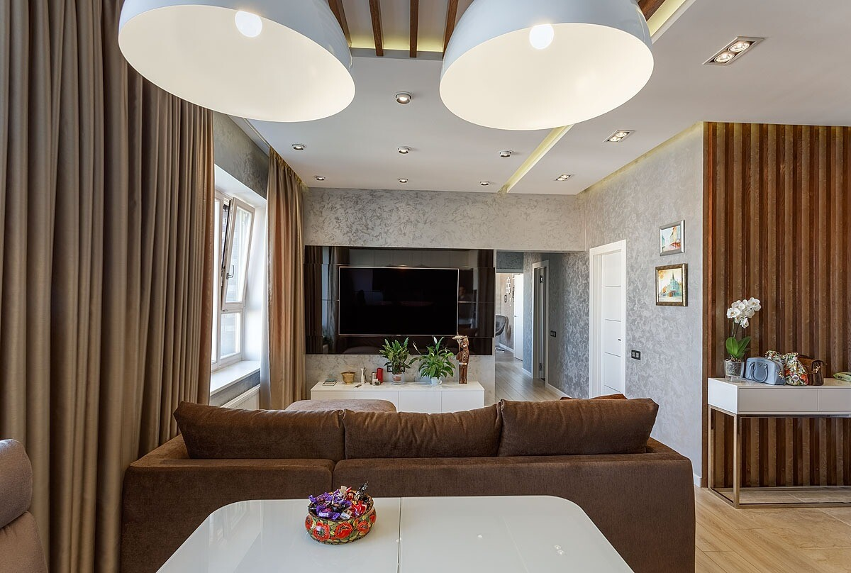 1+1: проект для молодой семьи, основанный на объединении двух квартир