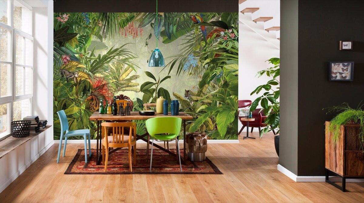 Небанальные тропики: как интересно обыграть модный тренд