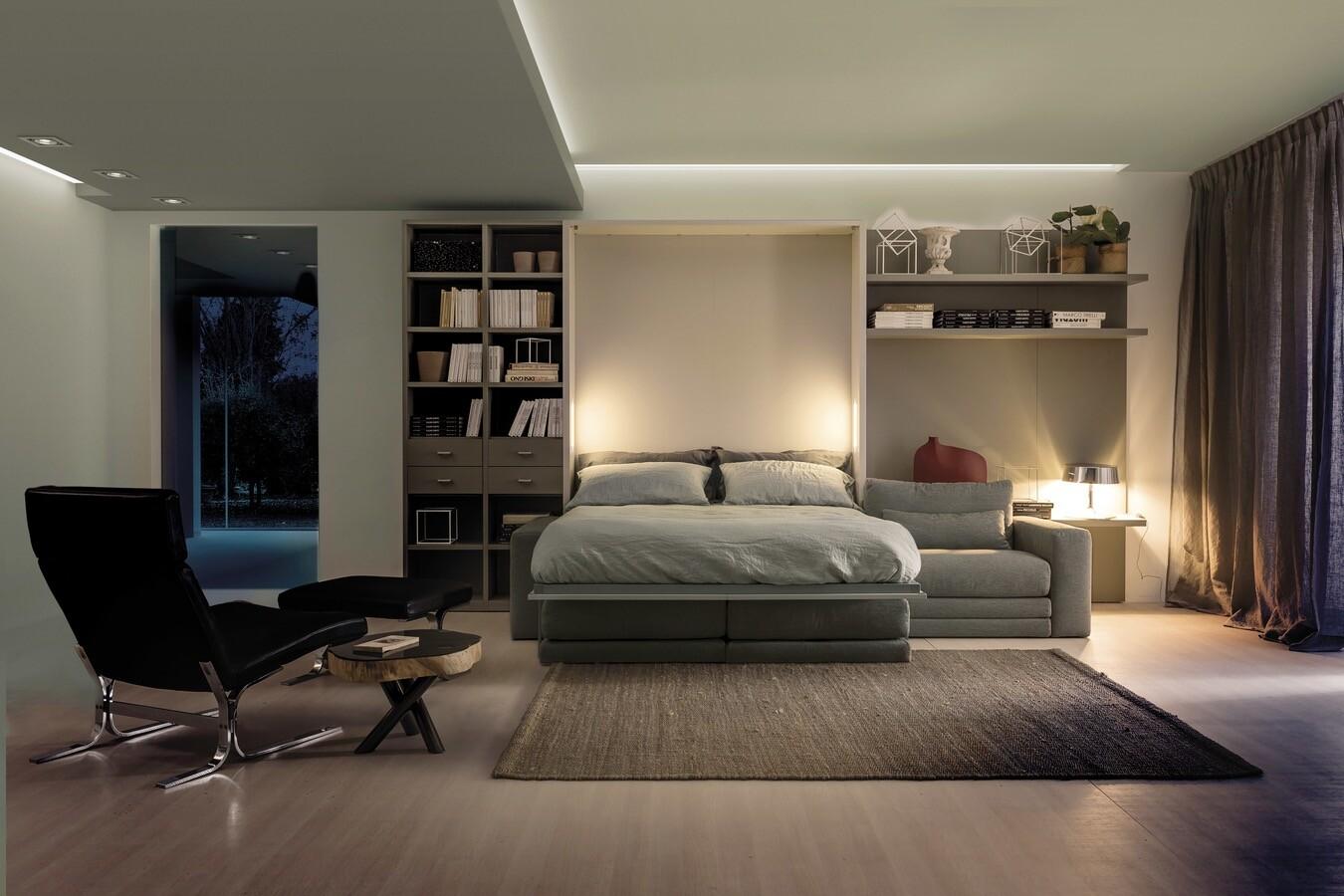 Кровать, встроенная в шкаф: функциональный предмет мебели или бесполезная покупка?