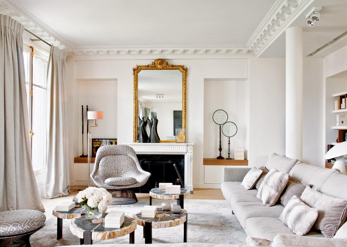 10 эффектных дизайн-приемов, подсмотренных в парижских квартирах