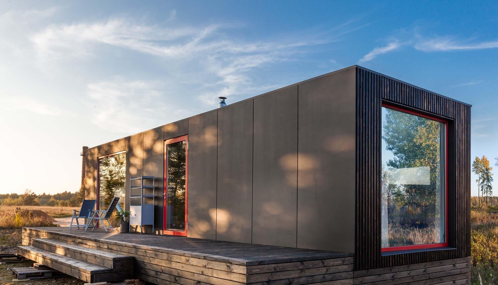 Находка для путешественников: модульный дом, который может переехать вместе с хозяевами