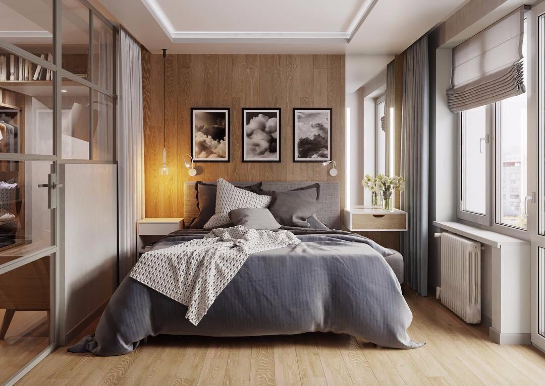 Оформляем интерьер спальни площадью 15 кв. м