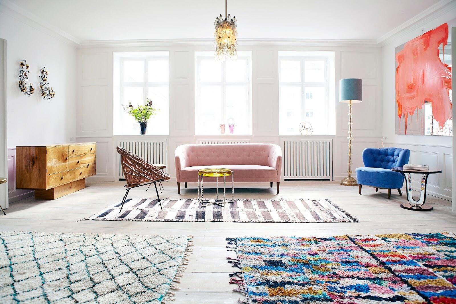 Выбираем идеальный размер ковра для комнаты: 4 момента, которые надо учесть