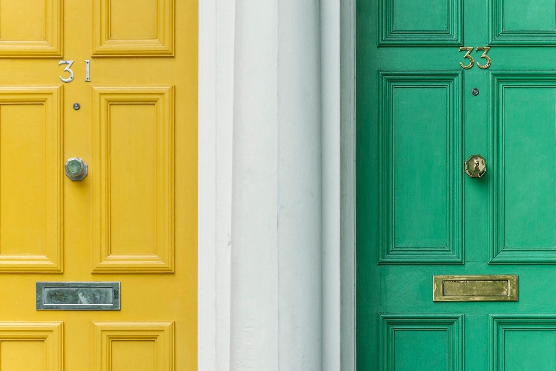 8 способов преобразить старую дверь до неузнаваемости