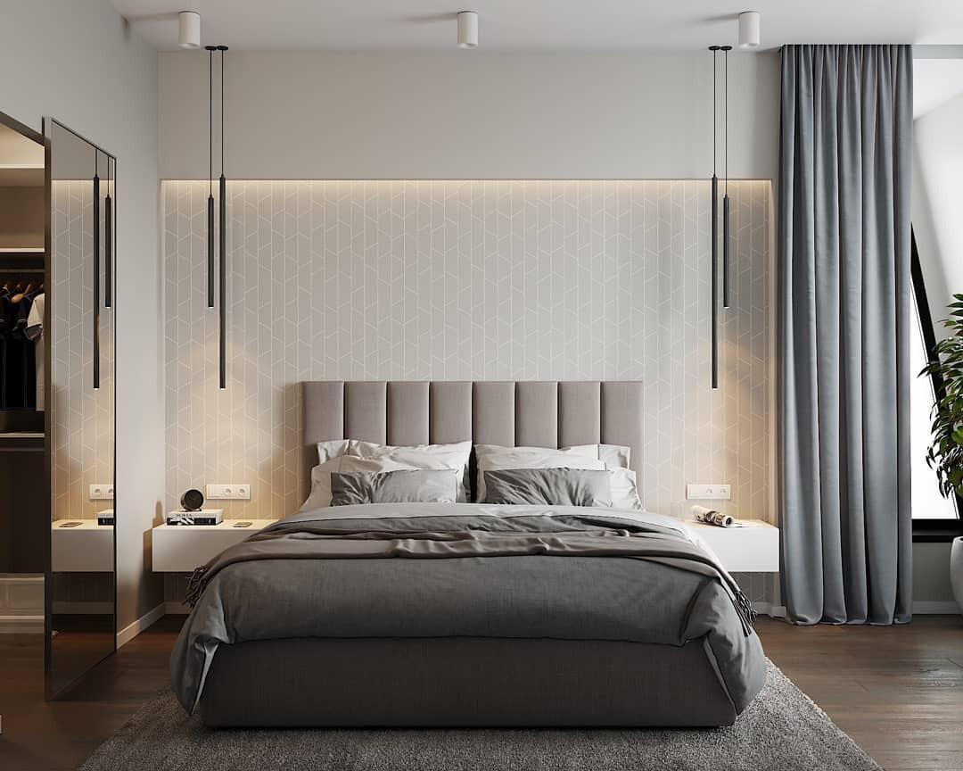 Какие обои выбрать для спальни: основные виды и модные тенденции
