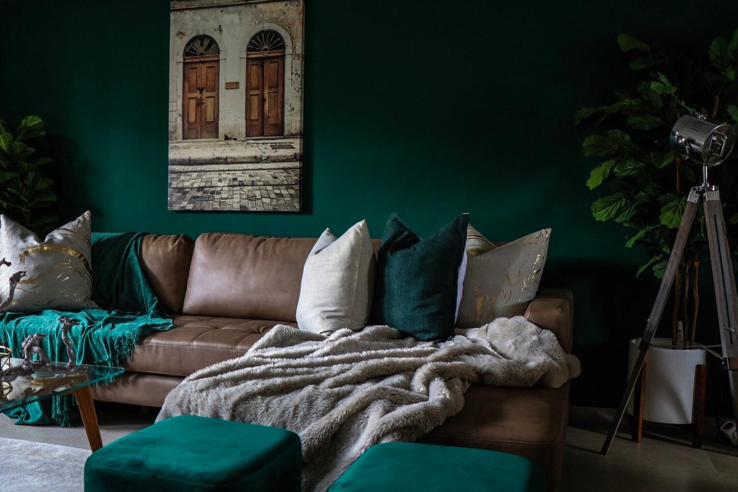35+ потрясающих интерьеров в зеленом цвете