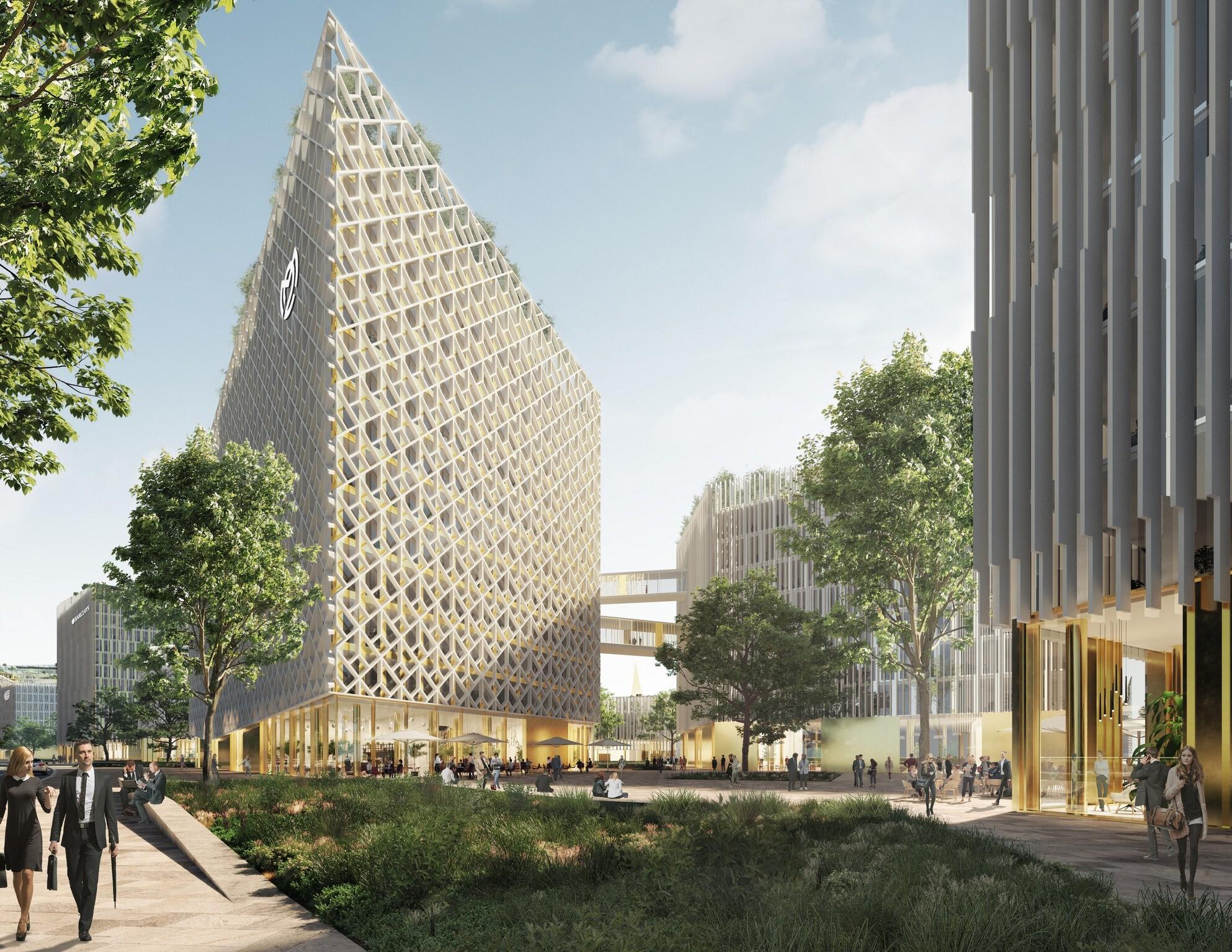 В Петербурге построят новый деловой комплекс