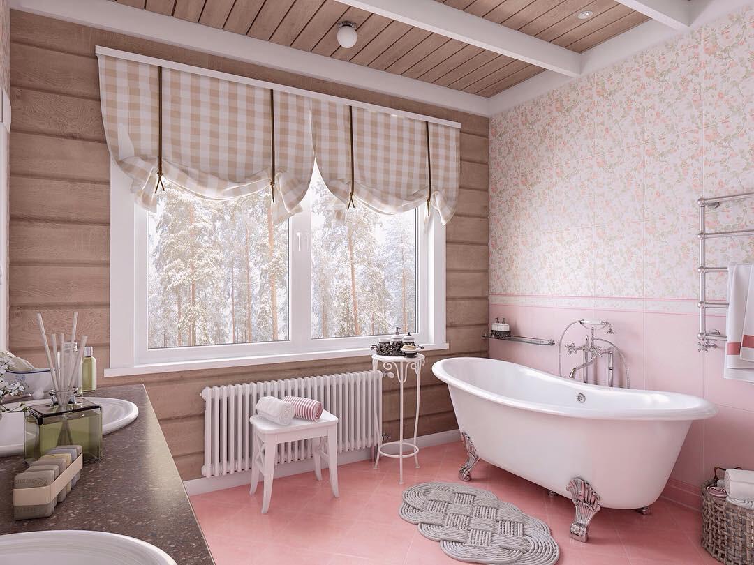 Оформляем ванную в стиле прованс: советы и 50 уютных примеров