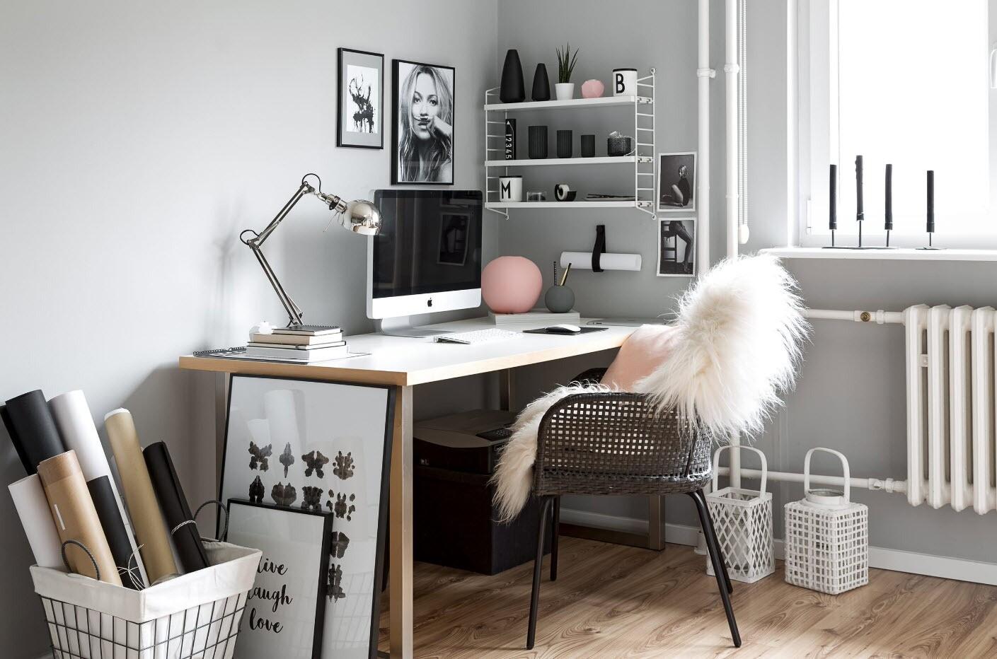 15 примеров оформления рабочей зоны в разных стилях