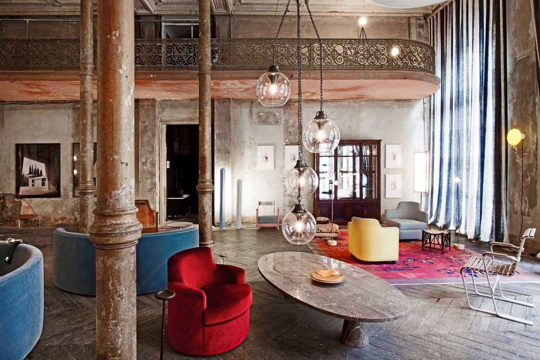Как создать интерьер в стиле гранж: советы по выбору отделки, мебели и аксессуаров
