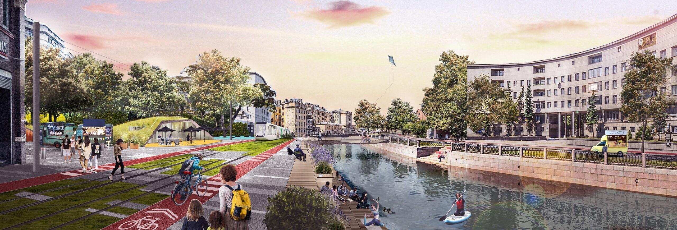 Проект реконструкции набережной Карповки окончательно утвержден