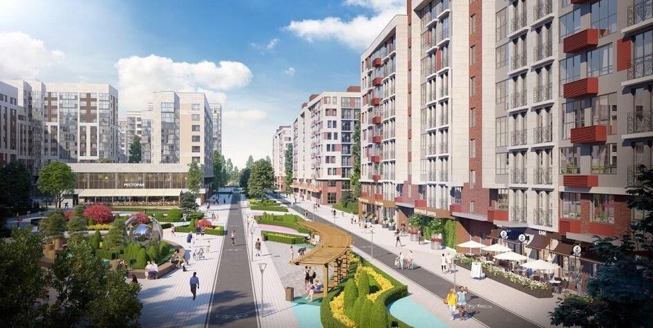 К 2020 году в Новой Москве появится пешеходная улица для саморазвития
