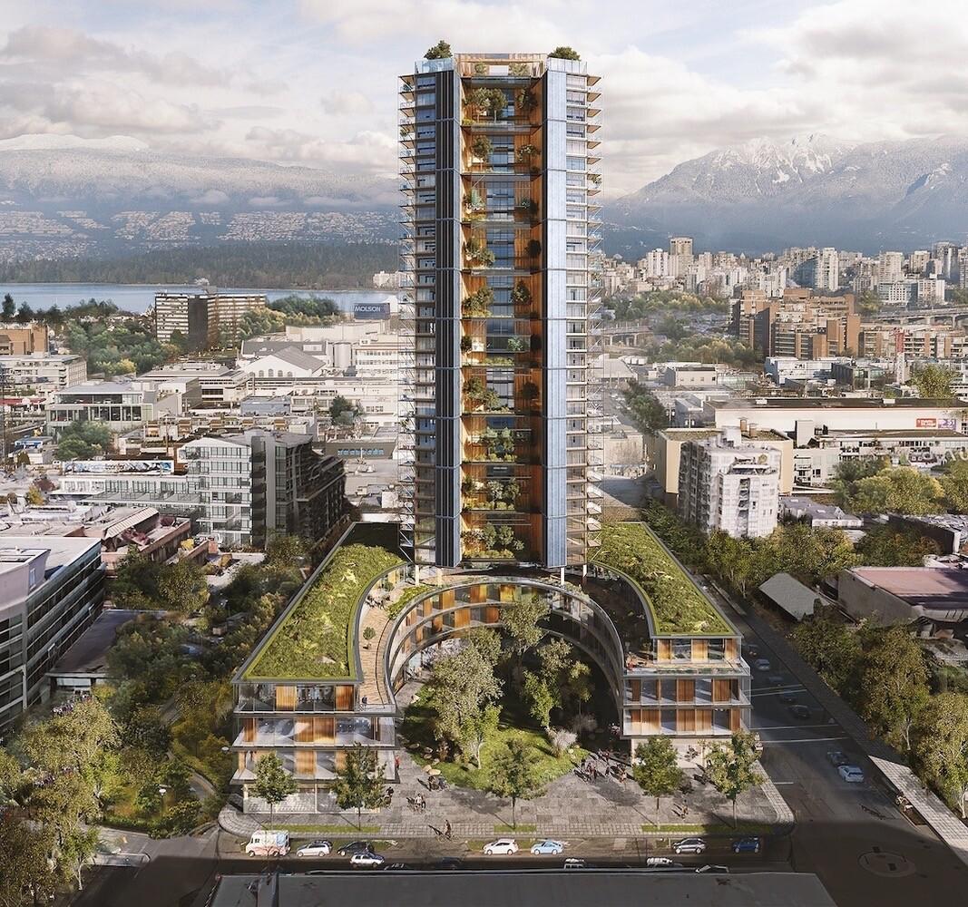 Первый гибридный небоскреб в мире будет сделан из дерева