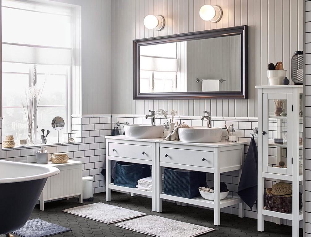 Обустраиваем ванную комнату в скандинавском стиле в 4 шага