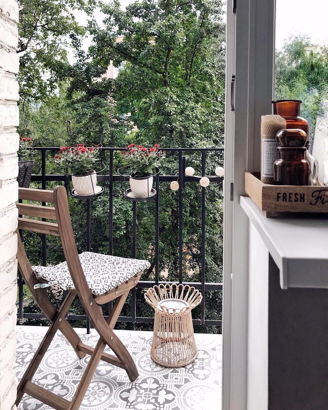 Преображаем балкон в хрущевке: 8 дельных идей