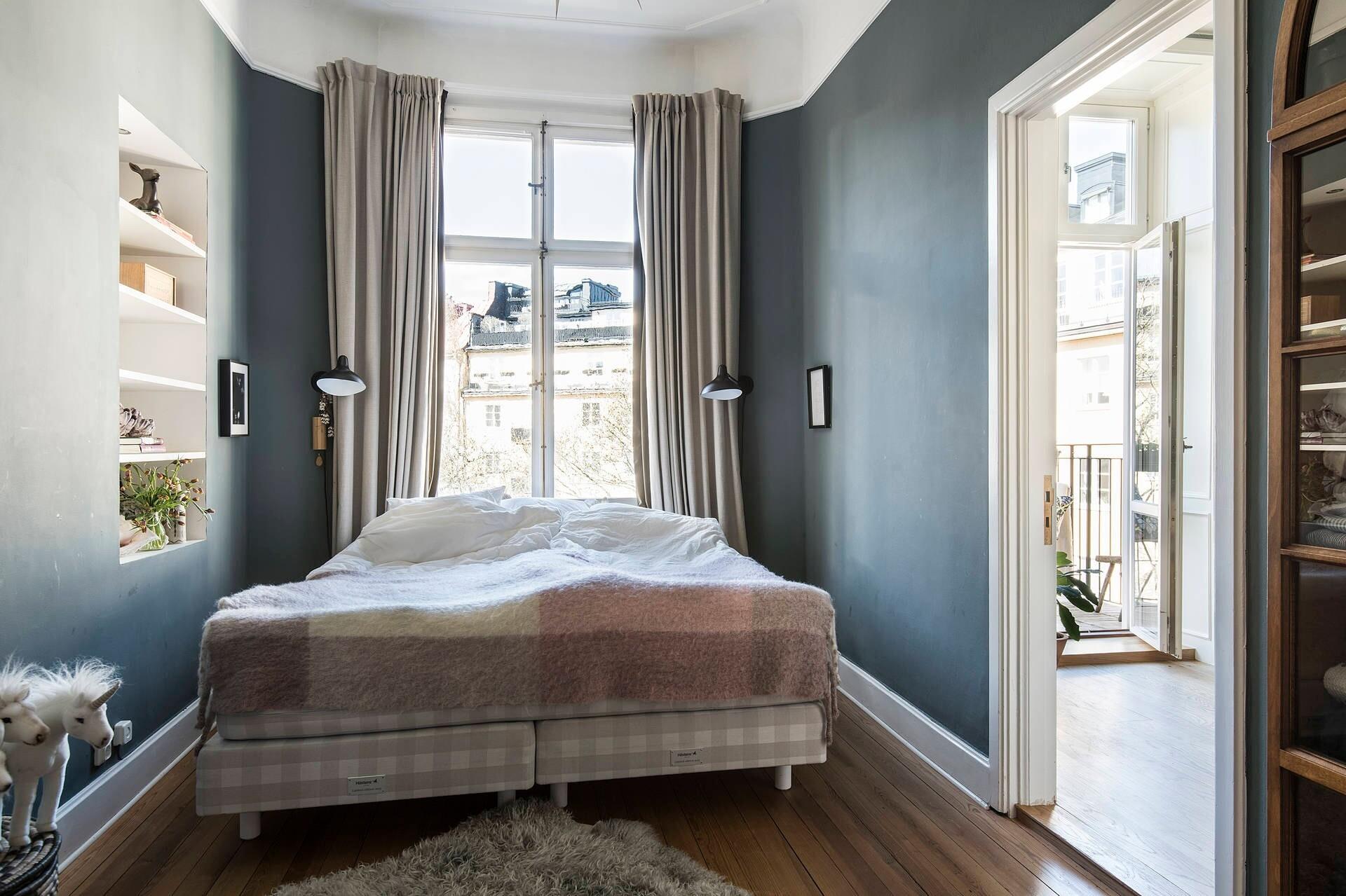 6 лучших цветовых решений для маленькой спальни