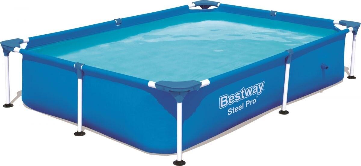 Бассейн каркасный Bestway Steel Pro