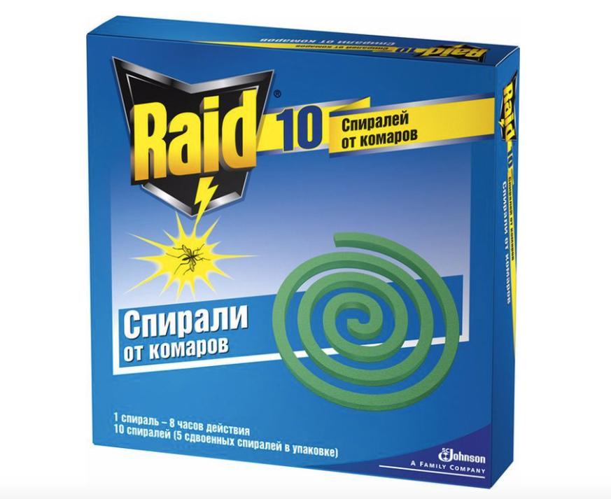 Спирали против комаров