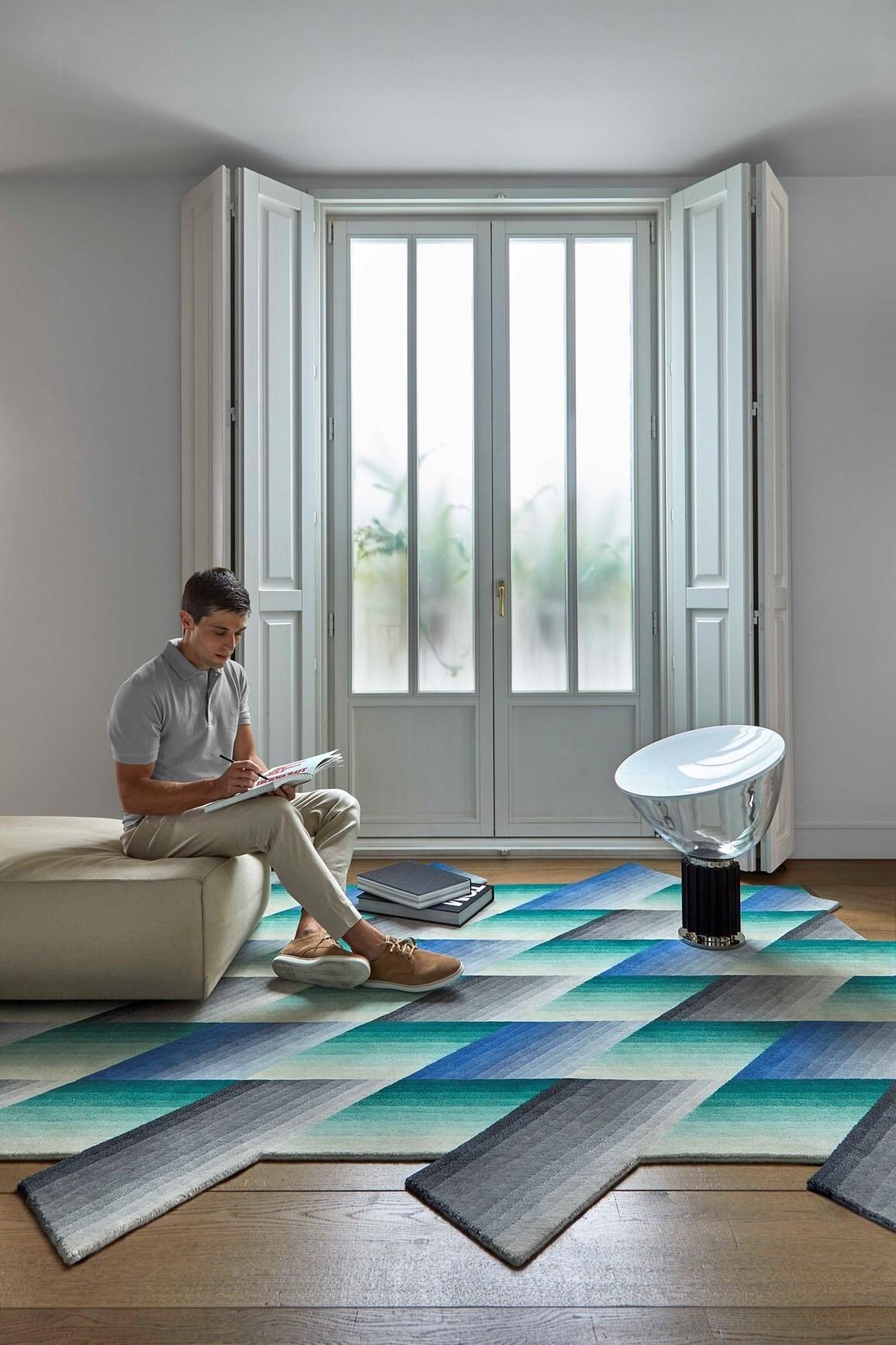 Красочный ковёр Mirage из новозелан&#...
