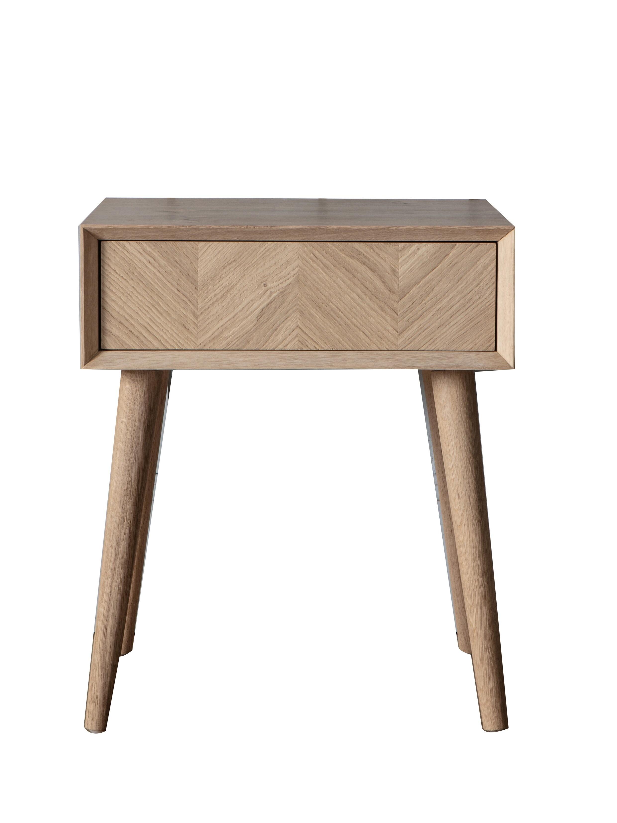 Столик с выдвижным ящиком из ко...