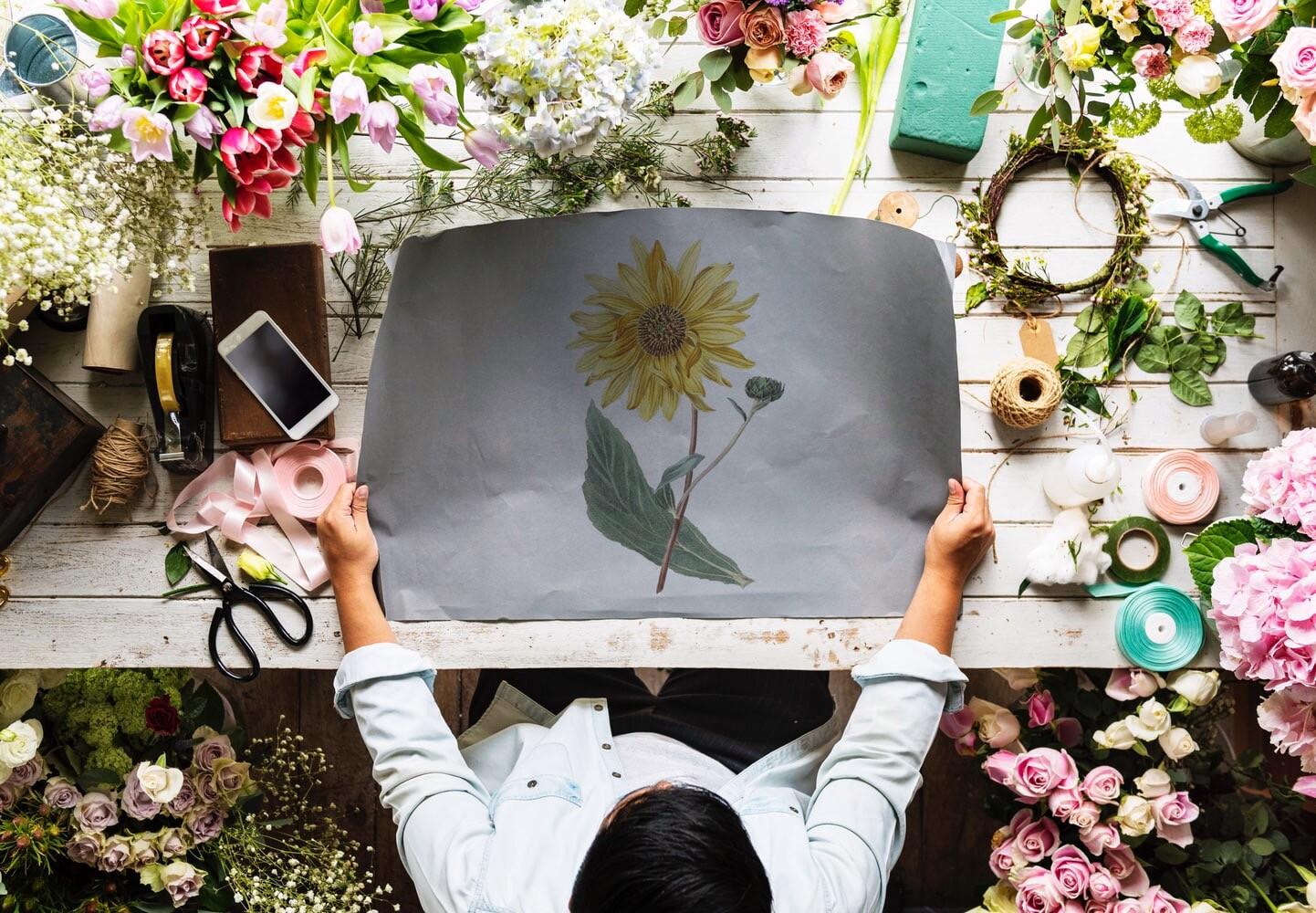 Делаем недорогой букет на 1 сентября: из дачных цветов, фруктов и овощей