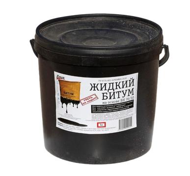 Мастика Кипер Жидкий битум 5 л