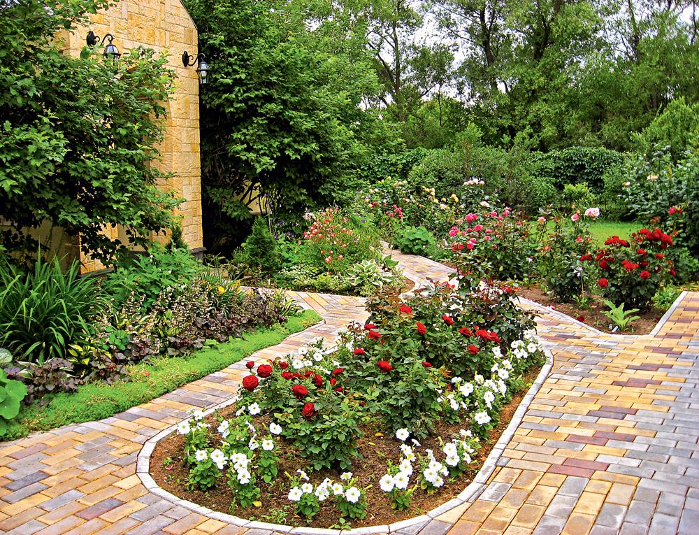 красивый сад для ленивых фото лучшие обои