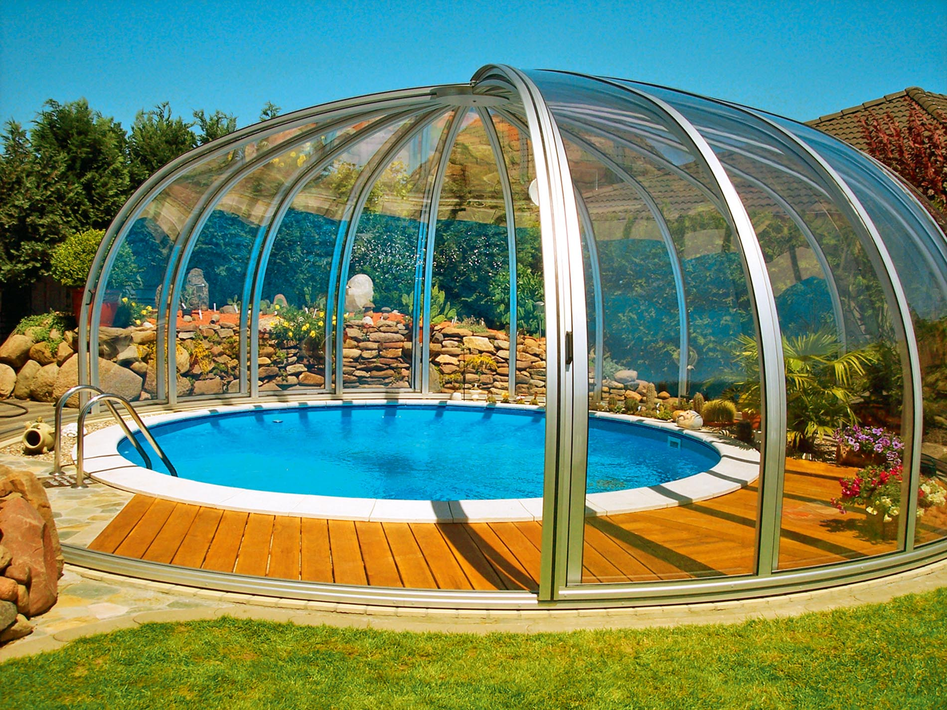 Купол для круглого бассейна FORUMHOUSE 69