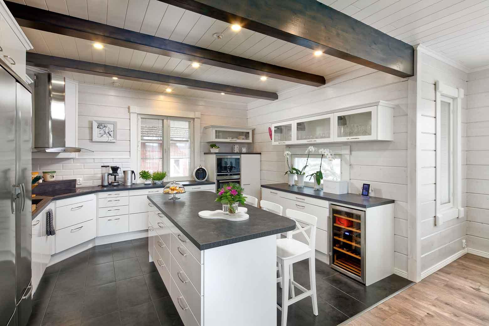 дома из бруса 15 стильных интерьеров