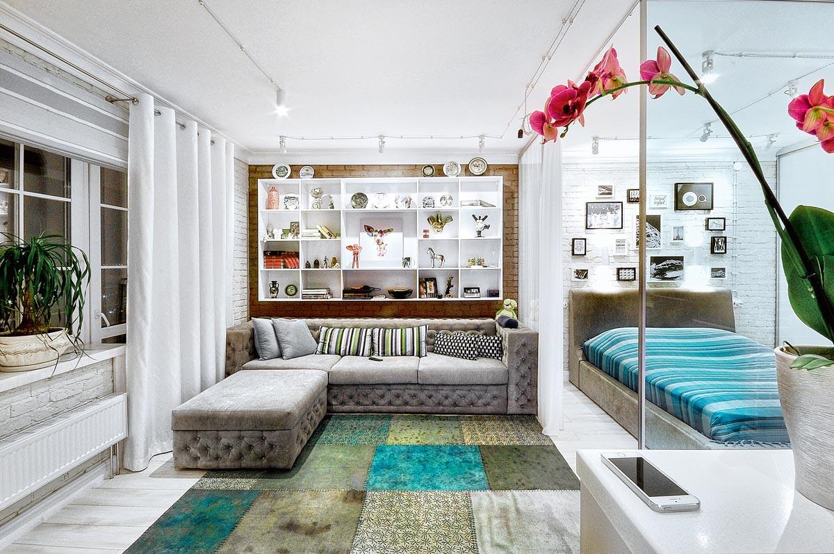 9 способов визуально увеличить маленькую комнату