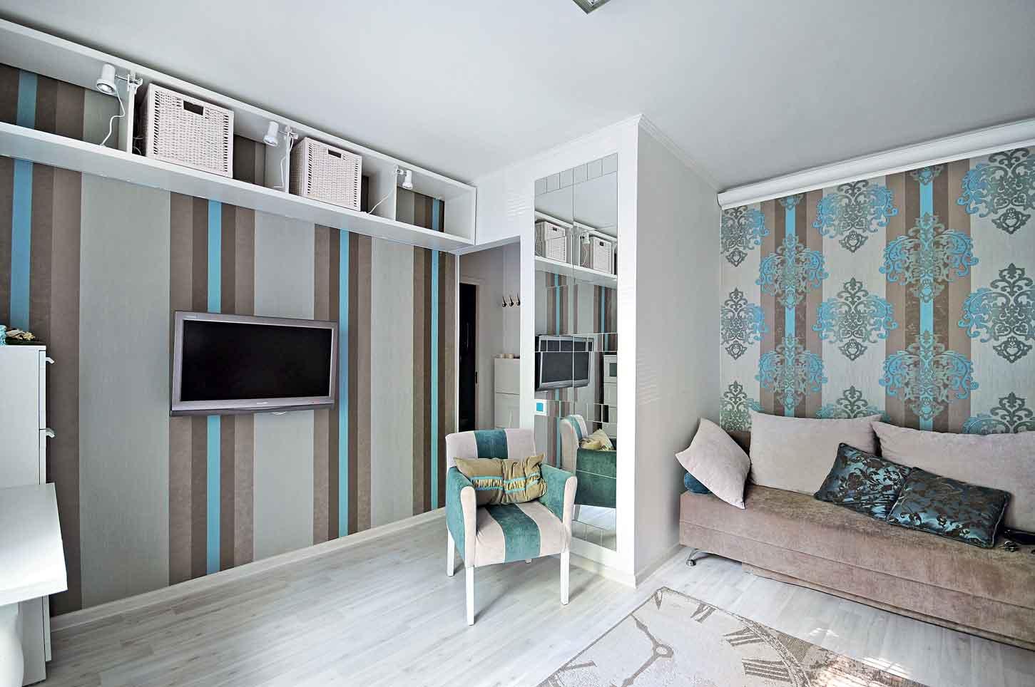 дизайн маленьких квартир 8 оригинальных идей